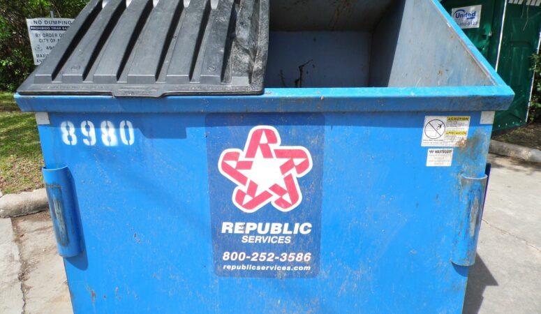 A Trash Dumpster and Sacrificial Love